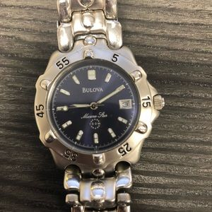 Bulova Marine Star 100m stainless steel watch